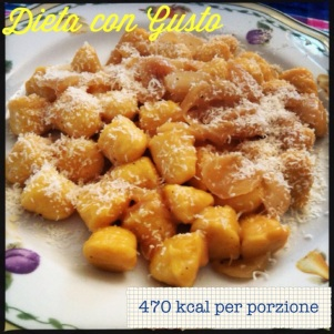Gnocchi di Zucca con Cipolle Fresche